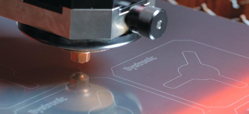 Laserschneiden von reflektierenden Metallen