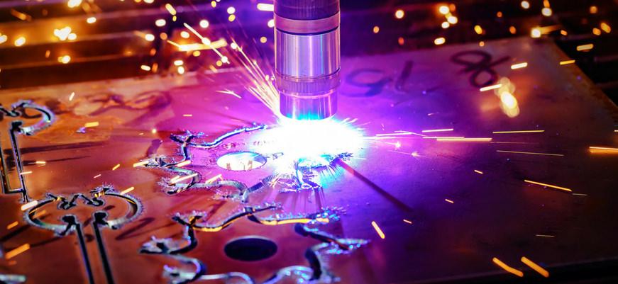 Plasmaschneiden Metall