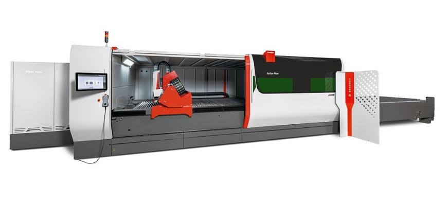 Laser Ing erwarb den modernsten Faserlaser